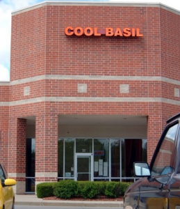 The front of Cool Basil