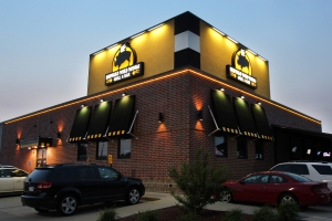 The front of Buffalo Wild Wings
