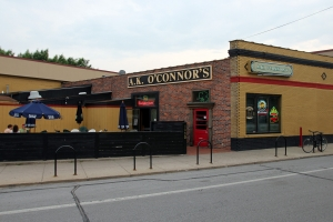 The Patio and Entrance to A.K. O'Connors