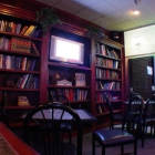 The built in library at Tanner's