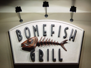 The Bonefish Grill Sign