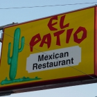 The Sign in Front of El Patio