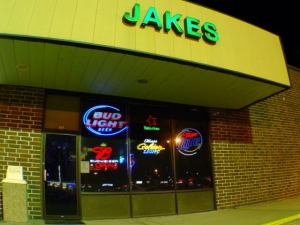 The front of Jakes