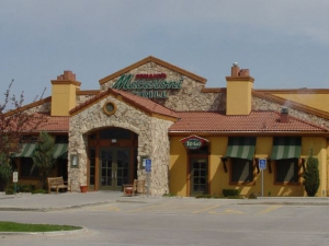 The front of the Macaroni Grill